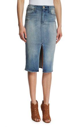 ecb437c3d0 McGuire Marino Denim Pencil Skirt