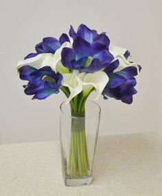 calla lily and iris bridal bouquet - Google Search