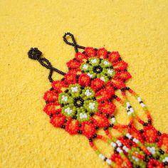Flower Bracelet Small Seed Beads Bracelet Handmade Beadwork | Etsy Seed Bead Bracelets, Seed Beads, Flower Bracelet, Beadwork, Beading, Iris, Beaded Jewelry, Crochet Earrings, Etsy