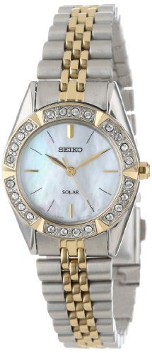Seiko Women's SUP094 Dress Solar Classic Watch