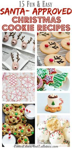 Santa Approved Christmas Cookies Collection