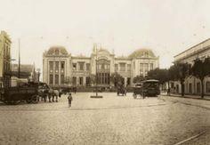 Escola de Comercio Alvares Penteado - 1910 - no Lgo. S. Francisco