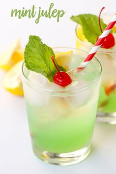 Disneyland's Copycat Mint Julep recipe - a non-alcoholic drink that is refreshing and DELICIOUS!! Recipe on { lilluna.com }