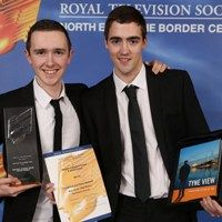 Sunderland students shine at television awards for North East & Cumbria