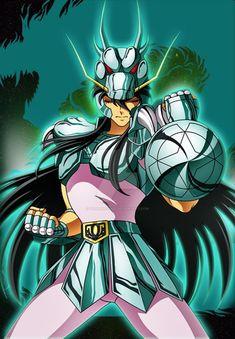 Dragon Shiryu - Saint Seiya (Exclusive) by FernanDohko on DeviantArt. Zodiac Characters, Superhero Characters, Manga Anime, Anime Art, Anime Comics, Knights Of The Zodiac, Sailor Moom, Japanese Superheroes, Fan Art