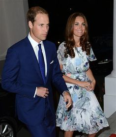 Duchess Kate Prince William evening reception