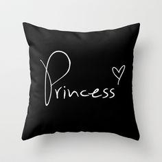 Princess Pillow Throw Pillow by RexLambo - $20.00