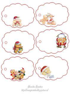 Sweet home : Kingipaki sildid (jõuluks) Christmas Gift Tags Printable, Christmas Labels, Christmas Cross, Christmas Printables, Mery Chrismas, Decoupage, Card Sentiments, Paper Tags, Baby Art