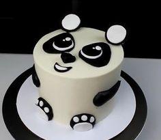 Etsy: Cute Fondant Panda Cake Topper Set by IDreamOfJeaniesCakes.