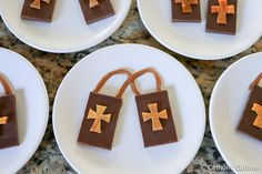 Here is a fairly quick and easy no bake treat that I made for my children today, to celebrate the feast of Our Lady of Mount Carmel, in...