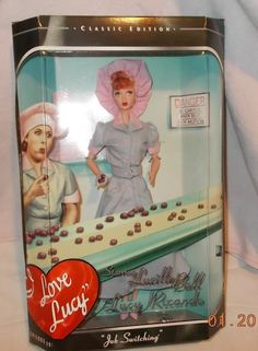 Mattel I Love Lucy Doll Episode 39 ~ Job Switching Timeless Treasure NRFB 1998