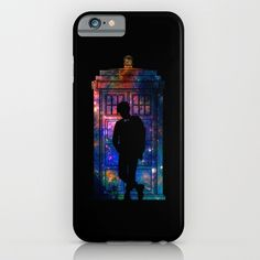 Space Tardis 11th Doctor iPhone & iPod Case