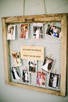 Vivid wedding photography poses - acquire superb recommendations out of this photo excerpt. Family Pictures On Wall, Display Family Photos, Wedding Photo Walls, Wedding Photos, Wedding Ideas, Blue Wedding Flowers, Wedding Table, Camo Wedding, Trendy Wedding