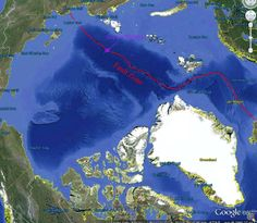Underwater volcanoes melting Arctic Ice, says geologist -  Massive amounts of heat pulsing from the earth. Powerful deep Arctic Ocean geological heat...