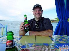 Panama - Cosmic Crab Restaurant Panama Beer