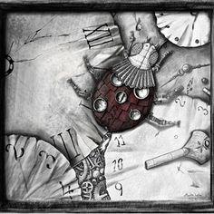 Steampunk beruška Steampunk, Fantasy, Painting, Art, Art Background, Painting Art, Kunst, Paintings, Fantasy Books