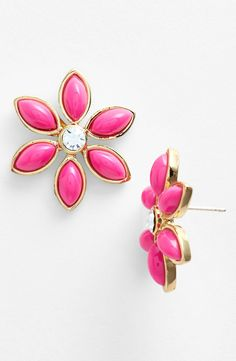 The cutest Kate Spade earrings for spring.