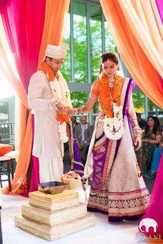 Exotic Eye-Candies: 95 Bold Indian Wedding Ideas | HappyWedd.com