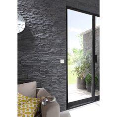 plaquette de parement erebus castorama sur pinterest d couvrez les meilleures id es parement. Black Bedroom Furniture Sets. Home Design Ideas