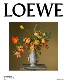 Med-res. Steven Meisel for Loewe - Flowers (August), 2016