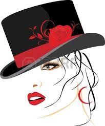 Résultats de recherche d'images pour « chapeau feminin illustrations »