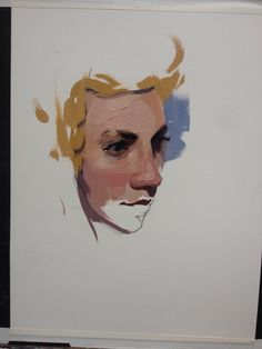 Alla Prima of Torrey, started with graphite, then oil on arches oil paper. http://www.feliciaforte.com/