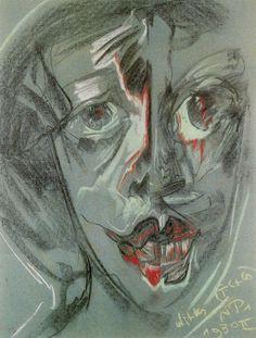 Witkacy - Portret Szmuglarowskiej Edwardy, 1930, formista Abyssinian, Literature, Novels, Joker, Portrait, Piece, Fictional Characters, Polish, 2d