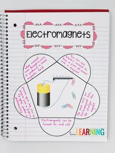 When teaching about Electricity and Circuits in the science classroom, I also teach my students about electromagnets. These interactive notes are a great example of a way to keep your students engaged in learning! My students love these type of activities!