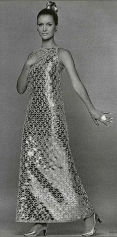 Circa 1966 - Yves Saint Laurent dress