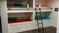 Bunk Beds, Furniture, Home Decor, Double Bunk Beds, Interior Design, Home Interior Design, Arredamento, Bunk Bed, Home Decoration