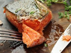 You think chicken breasts are delicate? Salmon has it beat by a mile. With practice, you can get to the point of nailing a perfect medium-rare center on a piece of poached or pan-seared salmon. But practicing on salmon can get pricey, and sous vide will guarantee perfectly moist, tender results each time. Sous vide also allows you to achieve textures you never knew were possible, from buttery-soft to meltingly tender and flaky-yet-moist.