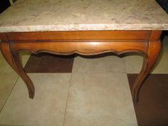 Vintage Marble Top Coffee Table/Vintage by VintageHomeIrina, $650.00
