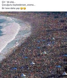 Beach in china.not holiday time for me. In China, Dankest Memes, Funny Memes, Jokes, Wtf Funny, Hilarious, Places Around The World, Around The Worlds, Citations Photo
