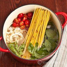 Amazing One Pot Pasta (Tomato Basil) - Chew Out Loud
