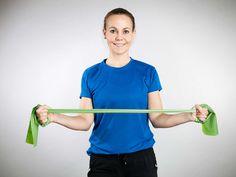 Olkapäiden kiertäjät Health Fitness, Exercise, Band Workouts, Shape, Sport, Healthy, Ejercicio, Deporte, Sports