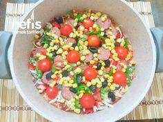 Kahvaltıya Şipşak Tencere Pizzası (20 Dakika) - Nefis Yemek Tarifleri Salsa, Pizza, Mexican, Ethnic Recipes, Food, Essen, Salsa Music, Meals, Yemek