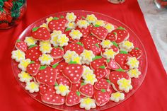 strawberry party   Desperate Craftwives: Strawberry Birthday Party