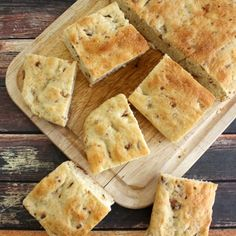 Bacon Focaccia #baconmonth - White Lights on Wednesday