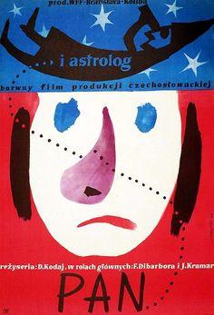 "Jerzy Treutler: ""PAN I ASTROLOG"", 1960"