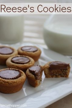 Reese's Cookies Recipe perfect for the holidays!
