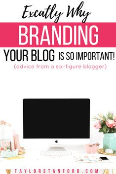 Why Blog Branding Is So Important . Branding as a blogger is the most important part. Branding your blog is what will make you successful. #bloggingtips #blogtips #blogbranding #branding #brandingtips #checklist