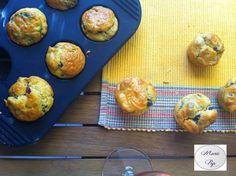 Mini muffins Apéro en Italie ( tomates séchées,olives)