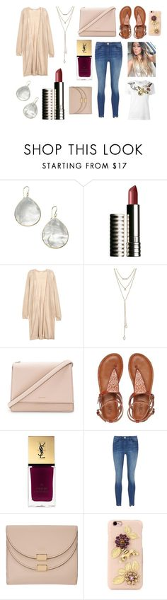 """Working as a reader for exams"" by hailey-smith-13 ❤ liked on Polyvore featuring Ippolita, Clinique, SUGARFIX by BaubleBar, Kate Spade, Roxy, Yves Saint Laurent, 3x1, Chloé, Dolce&Gabbana and RED Valentino"