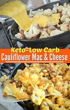 Keto Cauliflower Mac and Cheese is a Crowd Pleaser