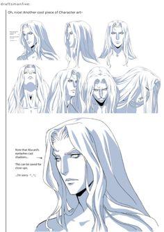 Alucard Castlevania, Castlevania Netflix, Castlevania Lord Of Shadow, Fantasy Characters, Anime Characters, Character Art, Character Design, Anime Was A Mistake, Manga