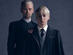 "The Malfoys, Draco and his son Scorpius, make a return alongside the Potters and Granger-Weasleys in ""Harry Potter and the Cursed Child."""