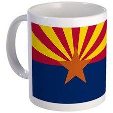 """Arizona State Flag"" Mug"
