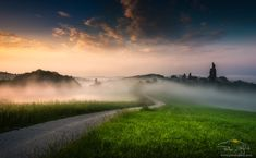 Foggy road by Peter Zajfrid on 500px