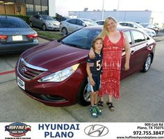 Congratulations to Kristine Klein on your #Hyundai #Sonata purchase from Frank White at Huffines Hyundai Plano! #NewCar