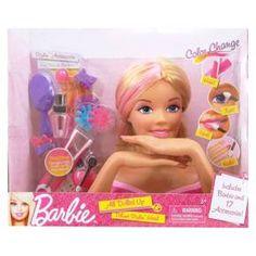 Barbie Deluxe Stylin' Head : Sophia
